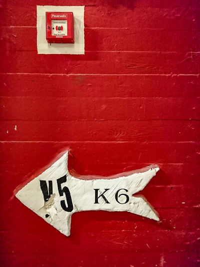 sign Anchor Close-up Communication Day Fire Alarm Box Germany Indoors  No People Nordrhein-Westfalen Red Red Wall Sign Staircase Text Unperfekthaus Wall Handy Photo