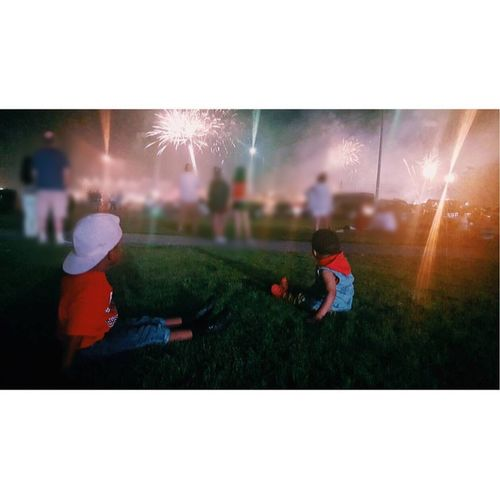 My Greatest Creation: these two !!!! Brothers Kings Fireworks Innocent Summer2015