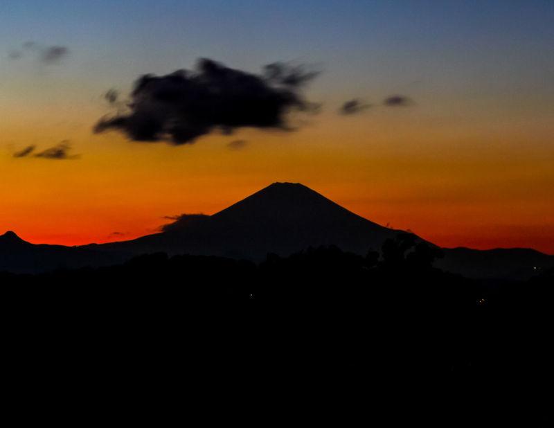 Sunset_collection Sunset Sunset Mountain Mount FuJi Japan Photos Japan Photography Red Sky Orange Sky
