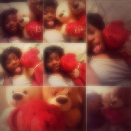Me & my Valentines bears from BAEE ♡♡♡