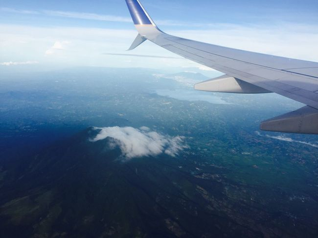 ElSalvador  Volcano Flying High Photography