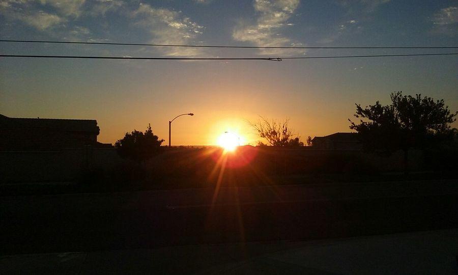 Sunset Sunset Morenovalley sun shot View