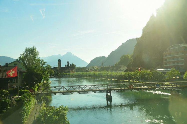 Swisslife Swiss Photographer Nature Travel Switzerland River Day Architecture Tree Sky View