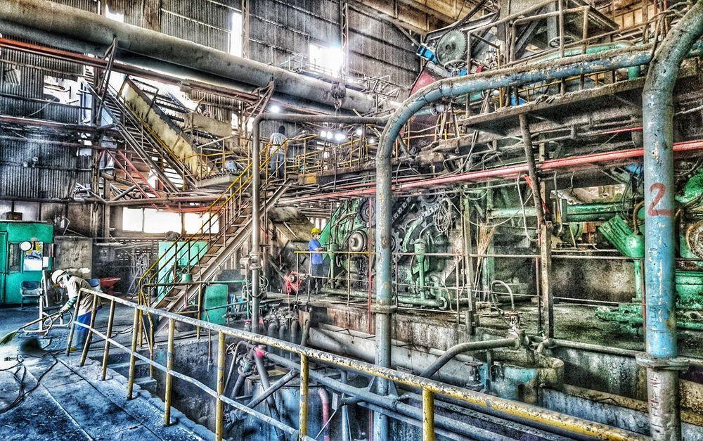 Factory 9tom Sony Z5 Sugarcanefactory Udonthani Thailand Photographic Memory
