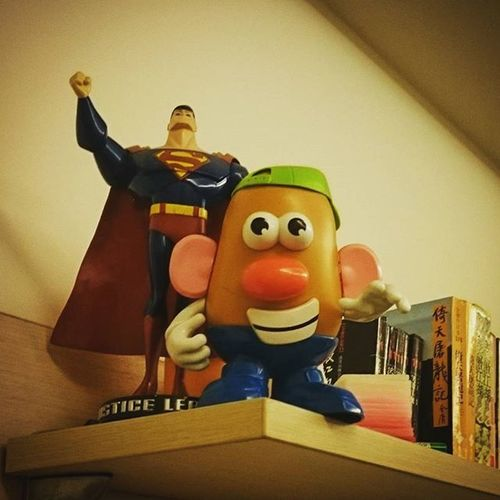 Take care! Toystory Mrpotato Justiceleague Superman