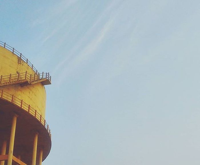 VSCO Minimalistic Watertank Sky Clouds 1morephotography Strideby