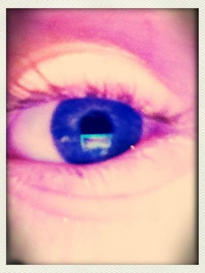 My Awsome Blue Eyeball And Yes Thats Really Me