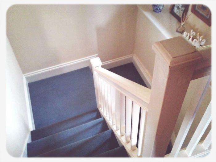 England Stairs White