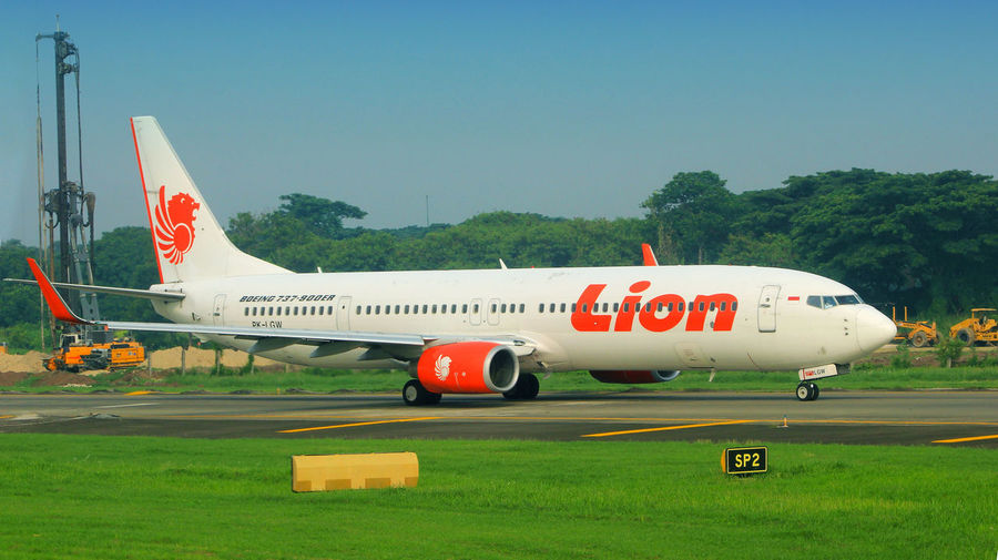 Boeing Lion Air Indonesia Lion Airlines Lion Air Group Boeing 737-900ER Jetengine Aircraft Aircraft Photography Jet Engine
