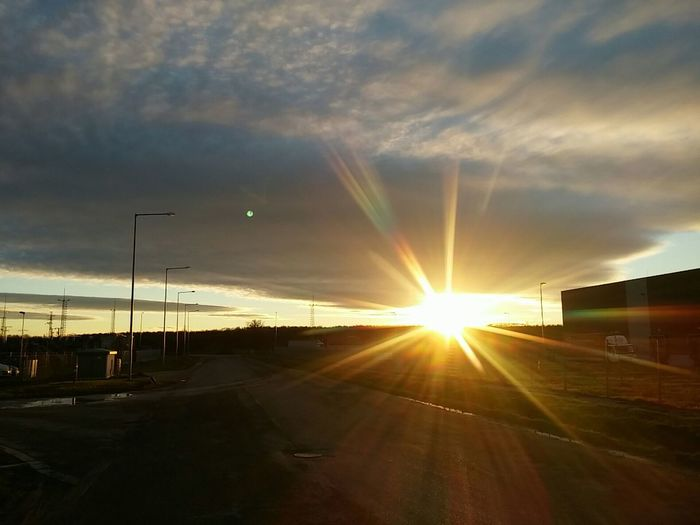 Showcase: December Sun In December Under The Sky Sky Sunshine