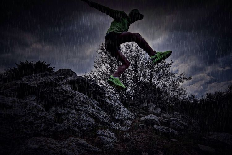 Sports Photography Trail Running Raining Capture The Moment
