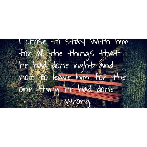 Love Thevow :) Nobodyperfect