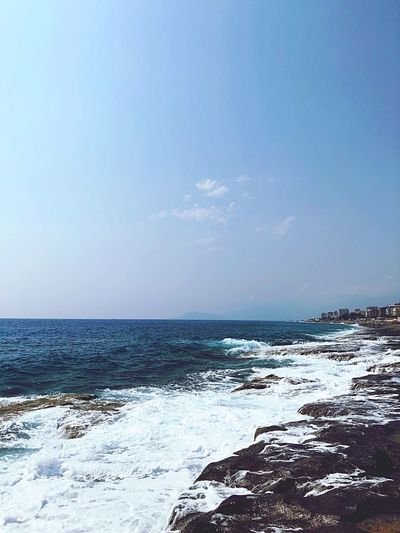 Summer in Kargicak 🇹🇷 Relaxing Moments Good Memory All Year Summer Holiday Love Sea Sky Water Scenics - Nature Horizon Over Water Beauty In Nature Horizon Nature Beach Day No People Blue Cloud - Sky