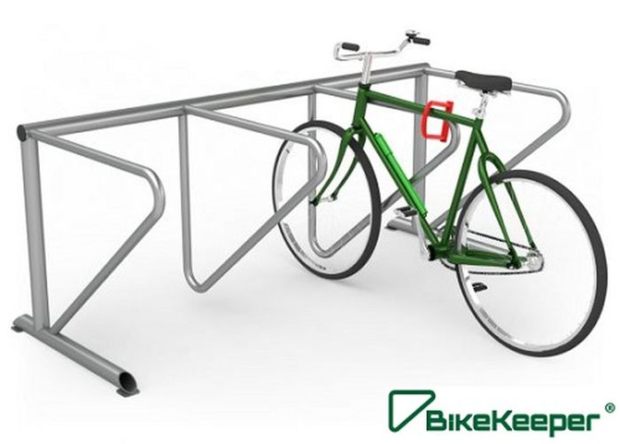BikeKeeper's safety increasing products are hot-dip galvanized inside and outside, and powder painted. They are made of pure hard steel, which is the best quality way to manufacture Bicycle parking solutions. For more info visit at Bicycle Parking Solutions Build A Bicycle Parking Station Innovative Cycle Parking Shelters Premium Bicycle Parking Solutions Smart Bicycle Parking Solutions