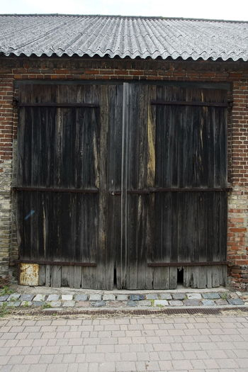 Architecture Barn Building Exterior Built Structure Closed Day Door House No People No People, Outdoors