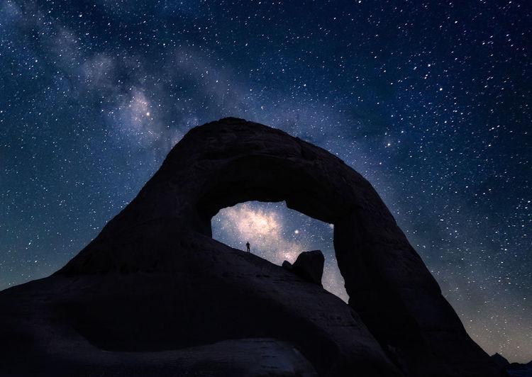 The great arch in saudi arabia