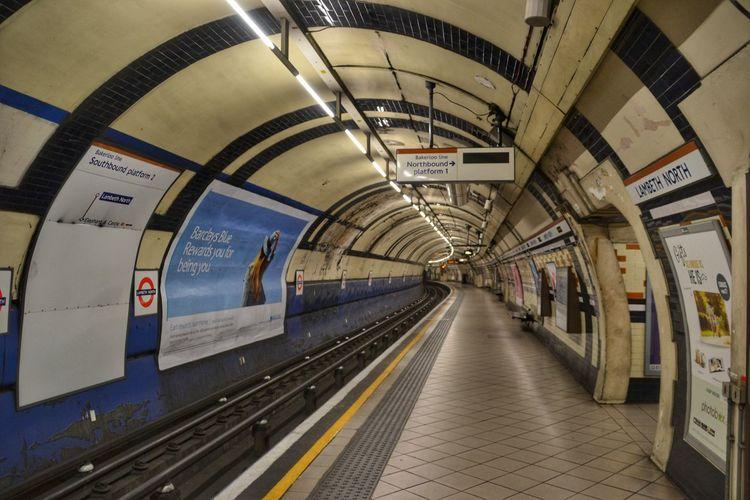Underground Lambeth North London England, UK June2015