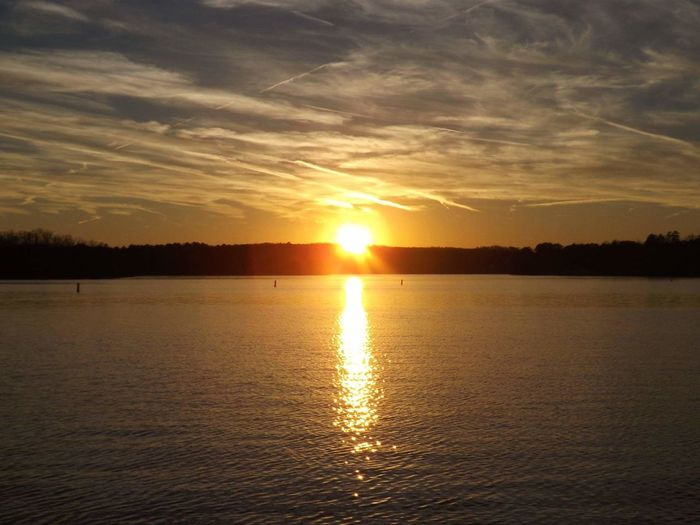 Sunset Pickwick Lake Sunset