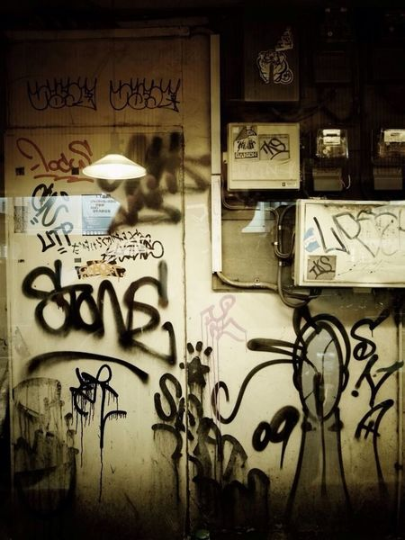 Hanging Out Graffiti Streetart Town