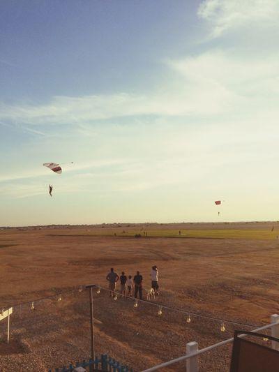skydive Clouds