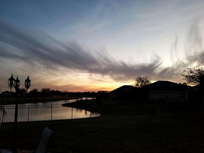 Cloud - Sky Tree Outdoors Sky Sunset No People Landscape