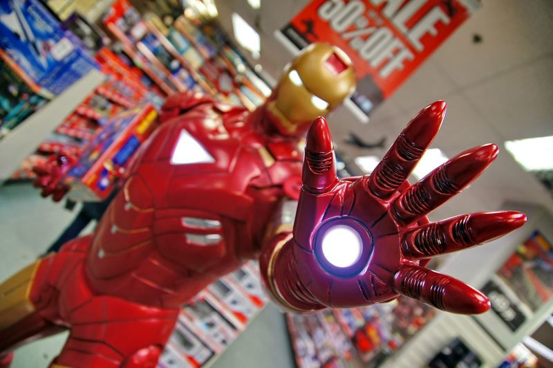 London HERO Superhero Toy Red Game LEGO MOVIE Marvel Marvels