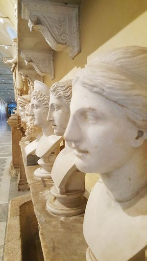 Vatican Museum Vatican Vatican 🇻🇦 One Person Young Women One Woman Only Close-up People One Young Woman Only Beauty Young Adult Only Women Adults Only Portrait Adult Day Outdoors