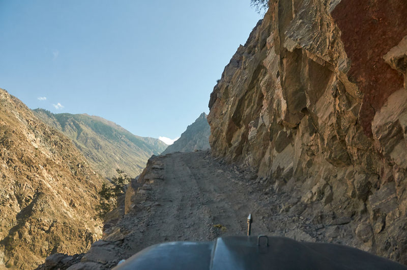 Road to the fairy meadows pakistan