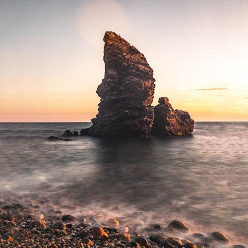 Barco de roca