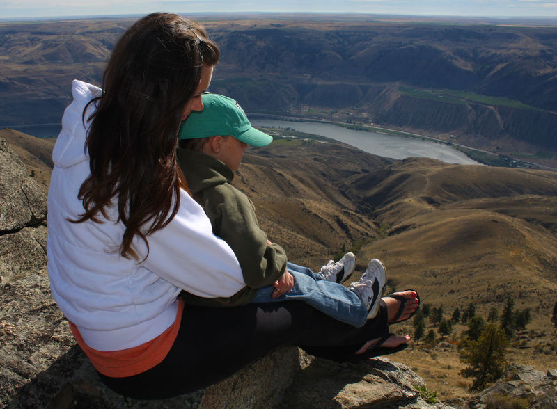 Above Above It All Bonding Casual Clothing Climate Desert Deserts Dry Dry Climate Family Landscape Leisure Activity Lifestyles Mother Mountain Nature River River View Sitting Togetherness Vacations View View From Above Young Adult Young Women Be. Ready.