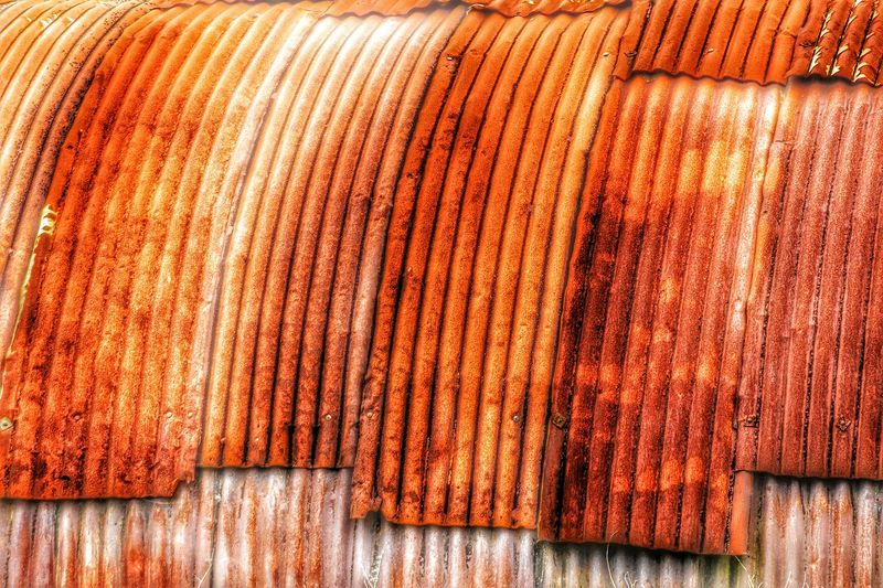 Tin Roof Corrugated Iron Rusty Roof Rust Abstract RustyLicious Rusty Background Our Best Pics Showcase April EyeEm Gallery Metal Structure Metal Art Simple Photography Simplicity Showing Imperfection Up Close Street Photography Pivotal Ideas