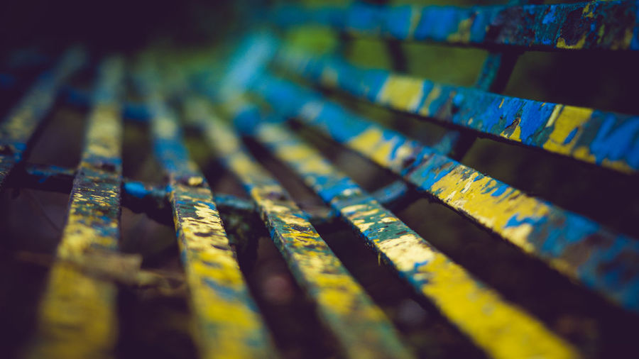 EyeEm Selects Vintage? No People Close-up Backgrounds Multi Colored Day Contrast Urban Colorful Decay And Dereliction Check This Out Sony Light And Shadow Depth Of Field Best EyeEm Shot Scenics Benches Photography Life Kent Tones Moody Macro Photography Detail Texture