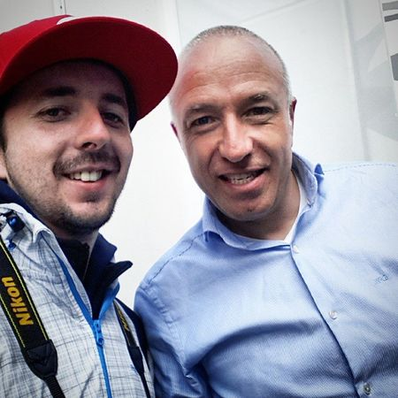 great weekend on the hungaroring :) with mr. Tomcoronel ;) grat for p2 in race 2 ;) Wtcc Manieck Edmlife Racing
