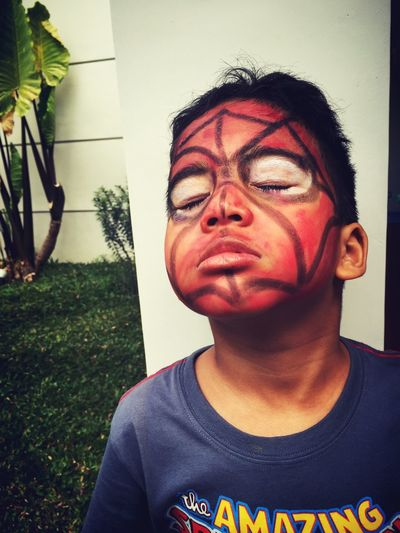 Face Deco Spidey Theyoungest Cool Kids Mykidsmyeverything Kidsartwork