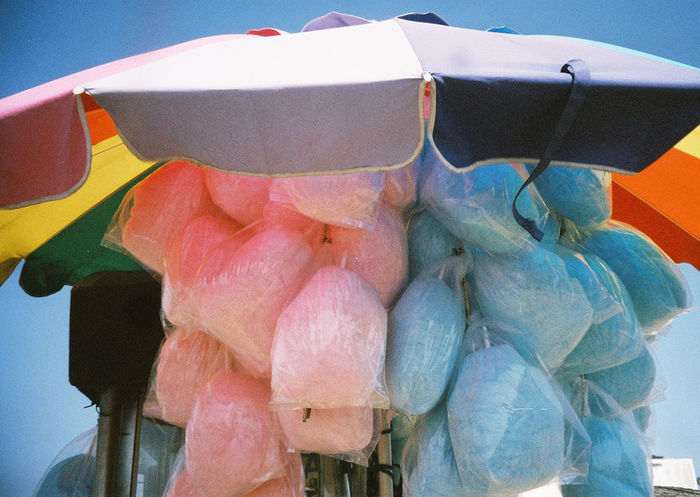 Cotton Candy Monday Happymonday  35mm Film Analogue Photography Filmisnotdead Los Angeles, California