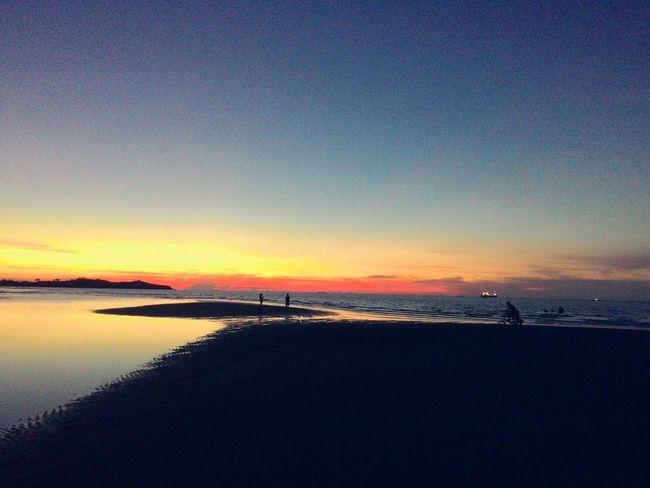 Beautiful sunset in Roxas City Naturelovers Nature_perfection Naturephotography Beach Life Beachphotography Sunset #sun #clouds #skylovers #sky #nature Beautifulinnature Naturalbeauty Photography Landscape [ [Photography Sunset Sunset_collection Roxas City