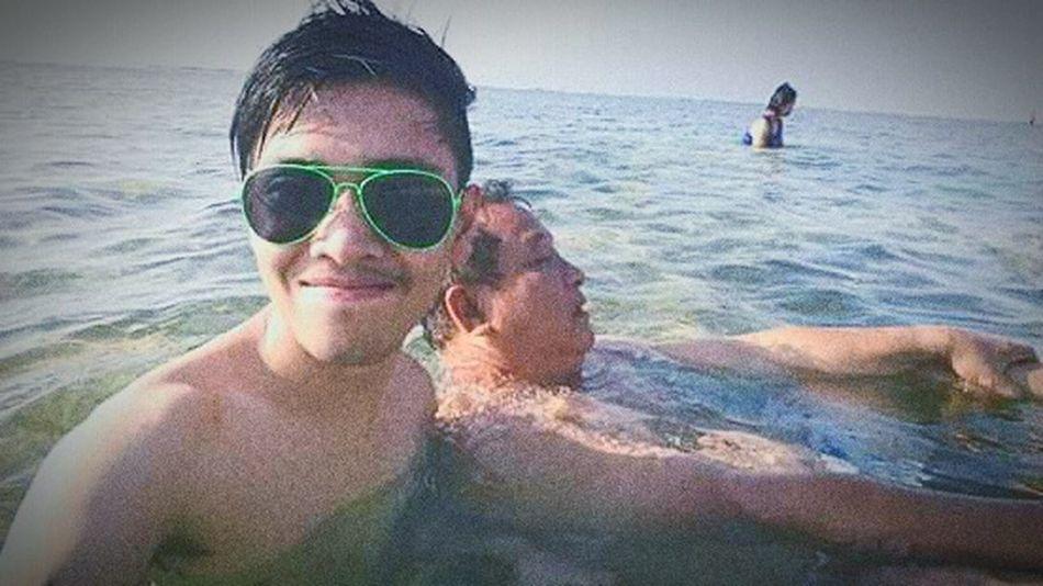 Modern Father beats the summer heat! Pangasinan Throwbackthursday  Iloveyoupo