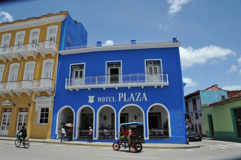 Cuba Architecture Built Structure Mode Of Transport City Land Vehicle Street Bicycle Cuban Outdoors Cuba Collection Window Blue Sky Cuba Taking Photos Photography