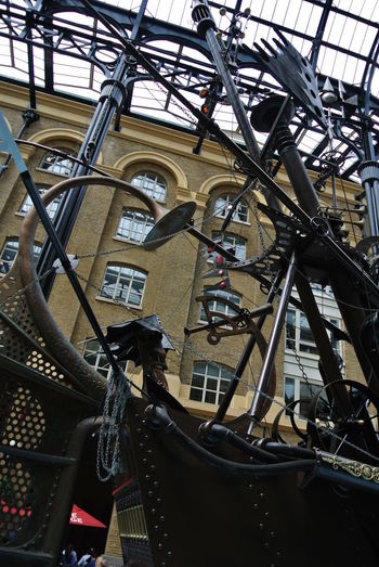 Postcode Postcards Architecture Statue Ship Exibition Exibition Hall Nofilter No People London Interier Not Straight