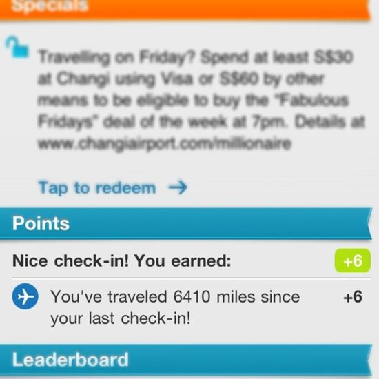 Long distance... Foursquare 4sq Checkin