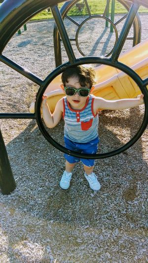 Childhood Child Playground Real People Fun Outdoors Happiness Playing Enjoying Life People My Guy