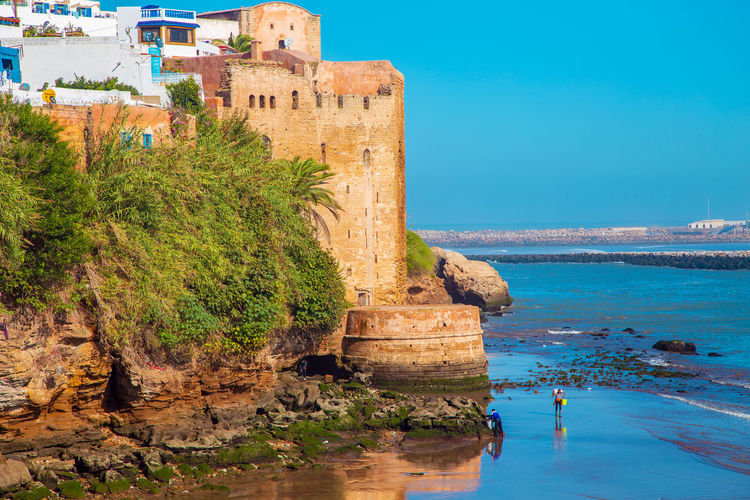 historical Medina of city of Rabat, Morocco Africa Arabian Capital City City Historical Islam Islamic Architecture Islamic Kasbah Medieval Medieval Architecture Morocco MoroccoTrip Morocco 🇲🇦 Morocco_travel Rabat Tourism Tourist Travel Wall Architecture Built Structure Sky Building Exterior Outdoors