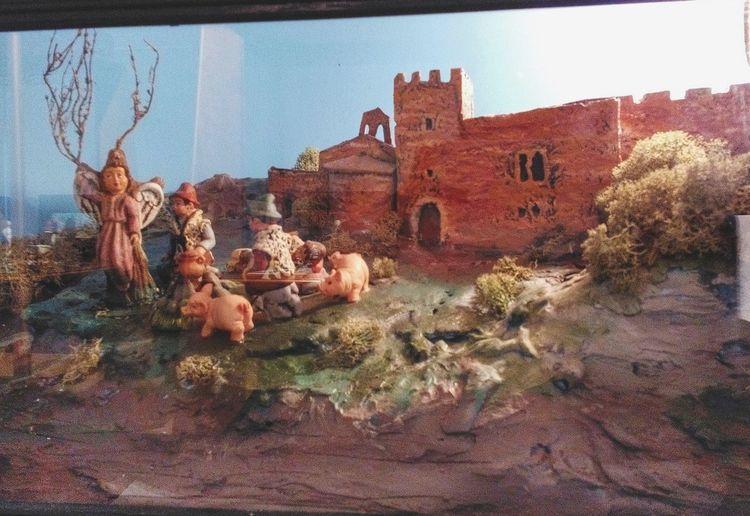 castell de Sant Llorenç Del Munt, Diorama Barcelona Catalunya SPAIN Traditions ArtWork Catalonia