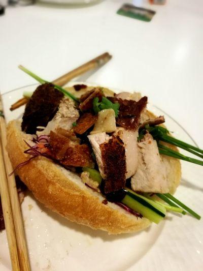 Food Freshness Meat Close-up Serving Size Indoors  No People Banhmi Vietnamese Food Roastpork