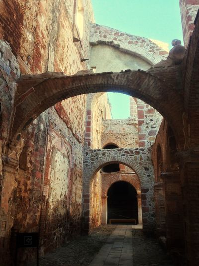 Zacatecas Architecture Building Exterior Medieval Outdoors Brick Wall