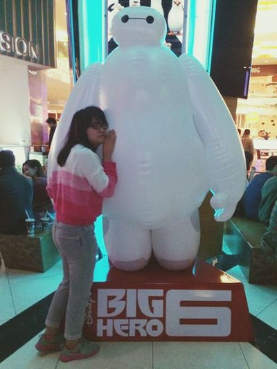 Baymax, the boy I love In Heaven Meeting Friends