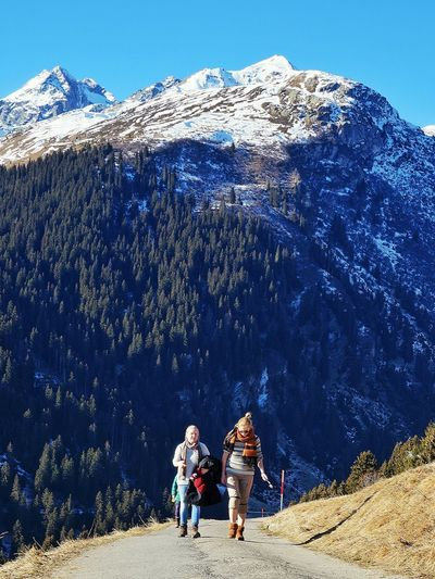 Brigels Two People Nature Day Mountain Sunny☀ Photographer Colors Happy Switzerland