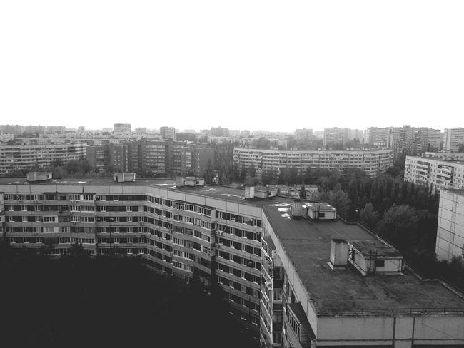 City Cityscapes Black And White