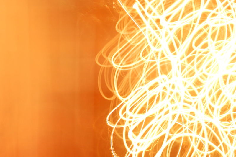 Abstract Background Backgrounds Burning Close-up Firework - Man Made Object Flame Glowing Heat - Temperature Illuminated Long Exposure Malen Motion Night No People Orange Color Outdoors Painting With Light Sparkler Sparks Wire Wool