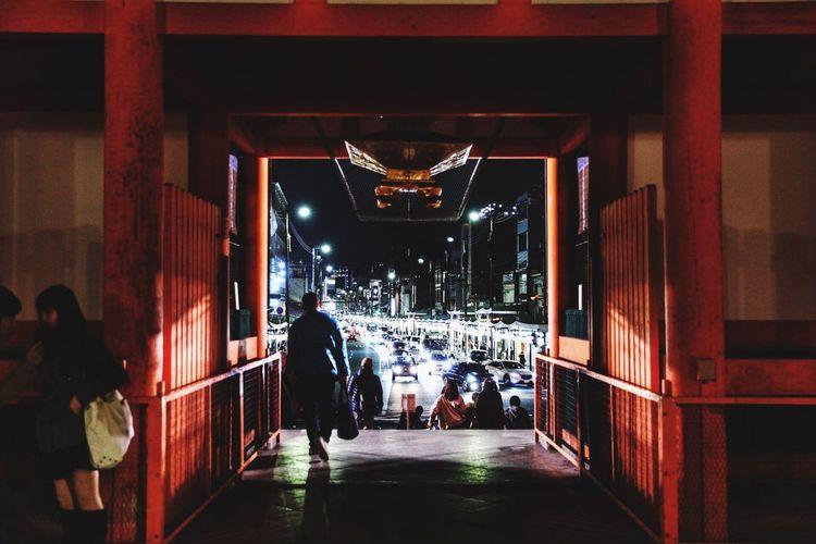 Yasaka-jinja Shrine Kyoto Japan 八阪神社 四条通り 京都 日本 夜の街